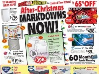 ABC Warehouse (After Christmas Markdowns Now) Flyer