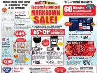 ABC Warehouse (Factory Authorized Markdown Sale) Flyer