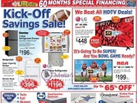 ABC Warehouse (Kick Off Savings Sale) Flyer
