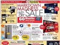 ABC Warehouse (Markdown Madness Sale) Flyer