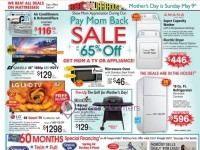 ABC Warehouse (Pay Mom Back Sale) Flyer