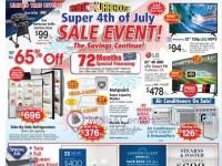 ABC Warehouse (Sale Event) Flyer