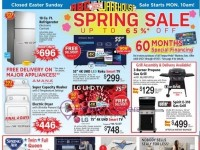 ABC Warehouse (Spring Sale) Flyer