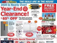 ABC Warehouse (Year End Clearance) Flyer