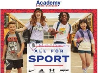 Academy Sports + Outdoors (All For Sport) Flyer