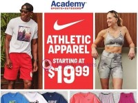 Academy Sports + Outdoors (Athletic Apparel) Flyer