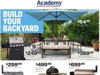 Academy Sports + Outdoors (Build Your Backyard) Flyer