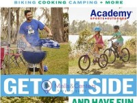 Academy Sports + Outdoors (Get Outside And Have Fun) Flyer