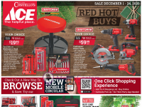 Ace Hardware (December Red Hot Buy - NY) Flyer