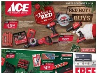 Ace Hardware (December Red Hot - CT) Flyer