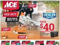 Ace Hardware (May Red Hot Buys - CT) Flyer