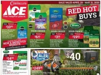 Ace Hardware (May Red Hot Buys - NY) Flyer