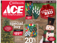 Ace Hardware (Wrap it in Red Sale - NY) Flyer