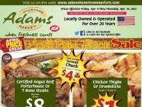 Adams hometown market (April Price Break Sale) Flyer