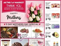 Akins Foods (Happy Mother's Day) Flyer