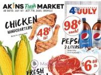 Akins Foods (Special Offer - Oroville) Flyer