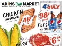 Akins Foods (Special Offer - Soap Lake) Flyer