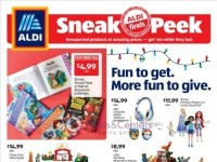 ALDI (sneak peek) Flyer