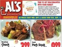 Al's Supermarket (Weekly Specials) Flyer