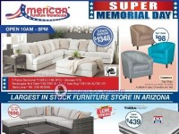 American Furniture Warehouse (Super Memorial Day) Flyer