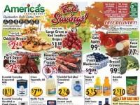 America's Food Basket (Fall Savings - CT) Flyer