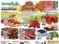 America's Food Basket (Fall Savings) Flyer