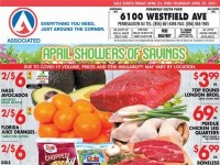 Associated Supermarkets (April showers of savings) Flyer