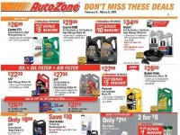 AutoZone (Monthly ad) Flyer