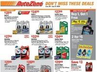 AutoZone (Savings offer) Flyer