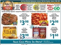 Baker's IGA (Weekly Specials) Flyer