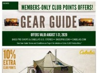 Bass Pro Shops (August Gear Guide - North) Flyer
