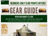 Bass Pro Shops (August Gear Guide - pacific) Flyer