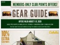 Bass Pro Shops (August Gear Guide - South) Flyer