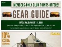 Bass Pro Shops (August Gear Guide - WEST) Flyer
