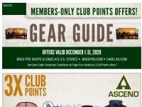 Bass Pro Shops (December Gear Guide - North) Flyer