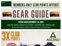 Bass Pro Shops (December Gear Guide - West) Flyer