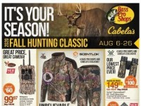 Bass Pro Shops (Fall Hunting Classic - North) Flyer