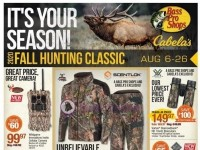 Bass Pro Shops (Fall Hunting Classic - pacific) Flyer