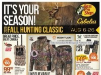 Bass Pro Shops (Fall Hunting Classic - South) Flyer