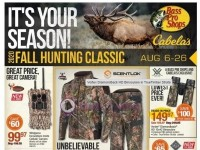 Bass Pro Shops (Fall Hunting Classic - WEST) Flyer