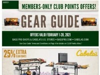 Bass Pro Shops (February Gear Guide - Pacific) Flyer