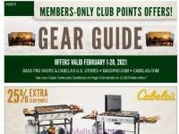 Bass Pro Shops (February Gear Guide - South) Flyer