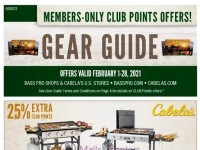 Bass Pro Shops (February Gear Guide - WEST) Flyer