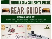 Bass Pro Shops (Gear Guide - North) Flyer
