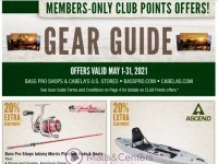 Bass Pro Shops (Gear Guide - Pacific) Flyer