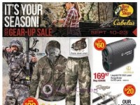 Bass Pro Shops (Gear-Up Sale - West) Flyer