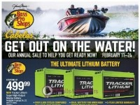 Bass Pro Shops (Get Out on the Water - West) Flyer