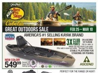 Bass Pro Shops (Great Outdoors Sale - Pacific) Flyer