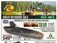 Bass Pro Shops (Great Outdoors Sale - South) Flyer