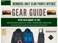 Bass Pro Shops (January Gear Guide - North) Flyer
